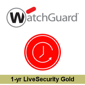 Picture of WatchGuard XTM 1525-RP 1-yr Upgrade to LiveSecurity Gold