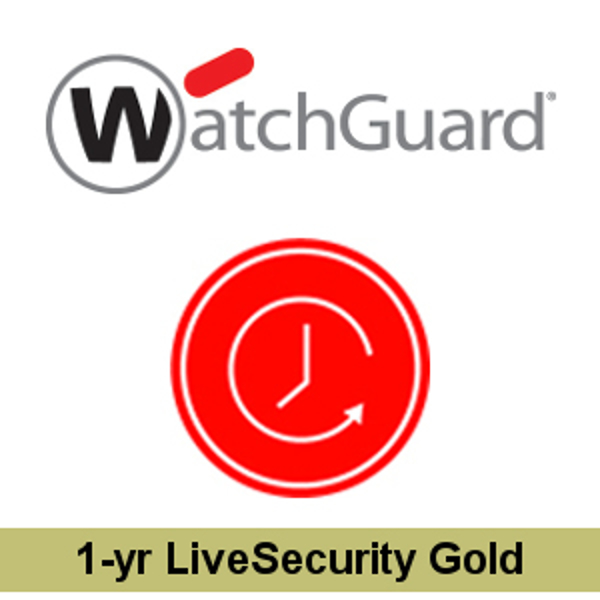 Picture of WatchGuard XTM 810 1-yr Upgrade to LiveSecurity Gold