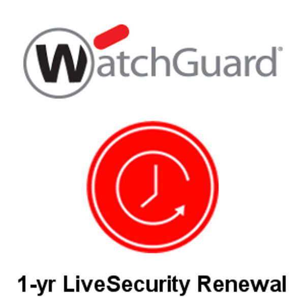 Picture of WatchGuard XTM 25-W 1-Year LiveSecurity Renewal