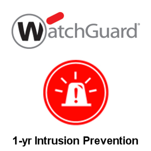 Picture of WatchGuard Intrusion Prevention Service 1-yr for Firebox M500