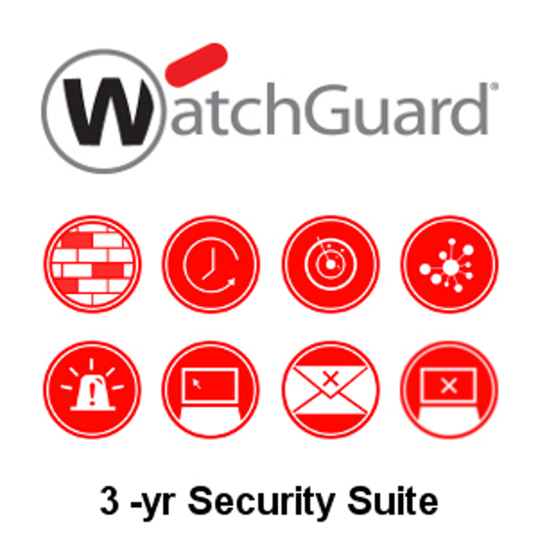 Picture of WatchGuard Security Suite Renewal/Upgrade 3-yr for Firebox M500