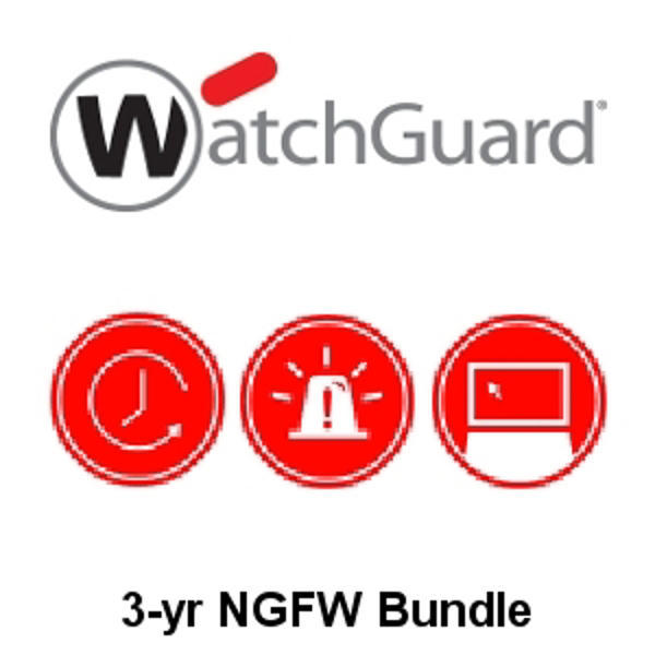 Picture of WatchGuard NGFW Suite Renewal/Upgrade 3-yr for Firebox M4600