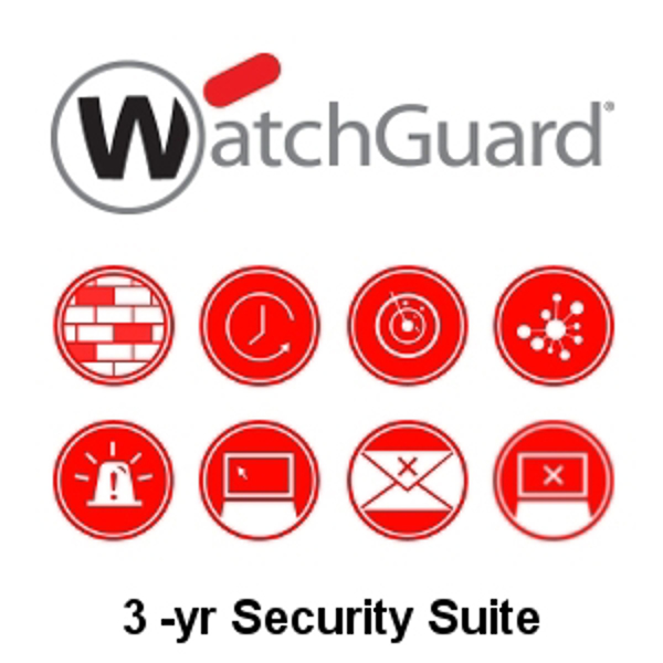 Picture of WatchGuard Security Suite Renewal/Upgrade 3-yr for Firebox M4600
