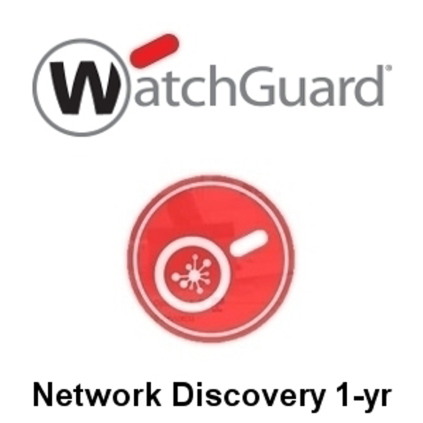 Picture of WatchGuard Network Discovery 1-yr for XTMv Small Office