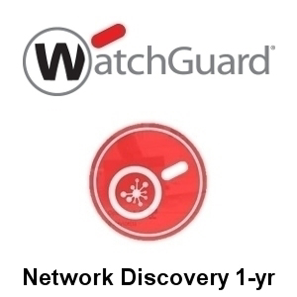 Picture of WatchGuard Network Discovery 1-yr for XTMv Datacentre