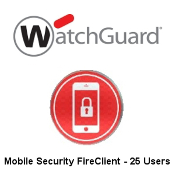 Picture of WatchGuard FireClient for 25 Users - 1-yr