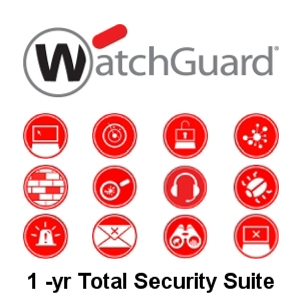 Picture of WatchGuard Total Security Suite Renewal/Upgrade 1-yr for FireboxV Small
