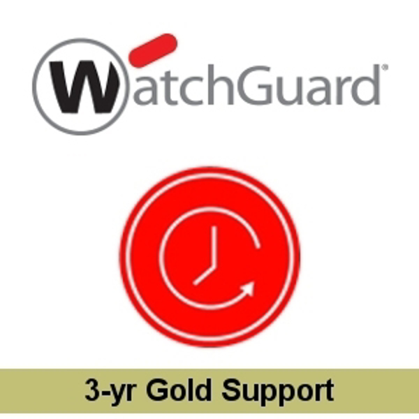 Picture of WatchGuard Gold Support Renewal/Upgrade 3-yr for FireboxV Medium