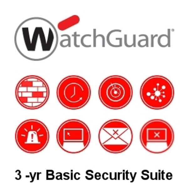 Picture of WatchGuard Basic Security Suite Renewal/Upgrade 3-yr for FireboxV Medium