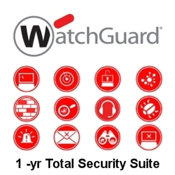 Picture of WatchGuard Total Security Suite Renewal/Upgrade 1-yr for FireboxV Large