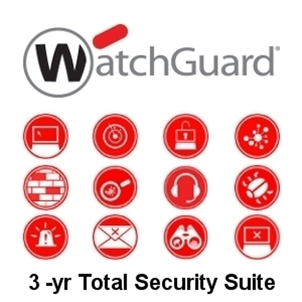 Picture of WatchGuard Total Security Suite Renewal/Upgrade 3-yr for FireboxV Large