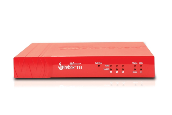 Picture of WatchGuard Firebox T15 with 1-yr Total Security Suite