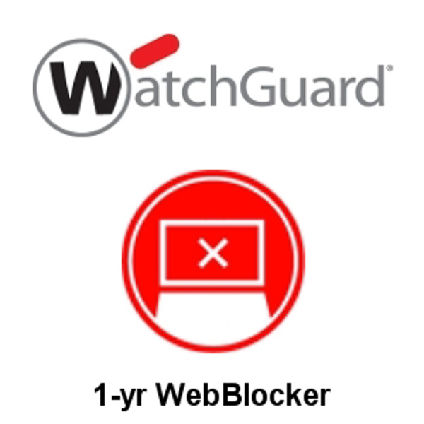 Picture of WatchGuard WebBlocker 1-yr for Firebox T15