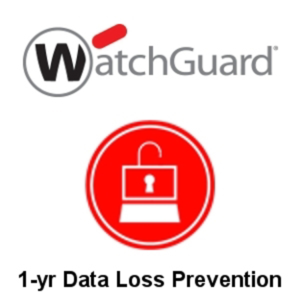 Picture of WatchGuard Data Loss Prevention 1-yr for Firebox T15-W