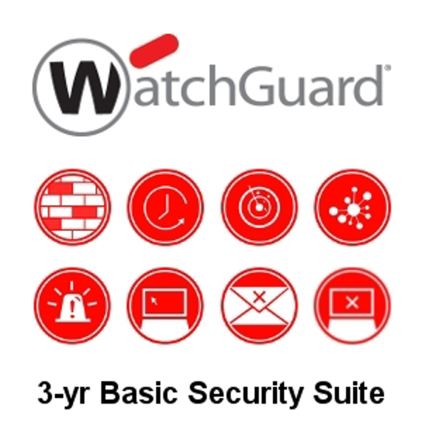 Picture of WatchGuard Basic Security Suite Renewal 3-yr for Firebox T15-W