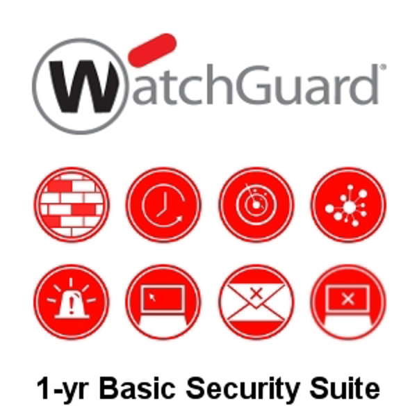 Picture of WatchGuard Basic Security Suite Renewal 1-yr for Firebox T15-W