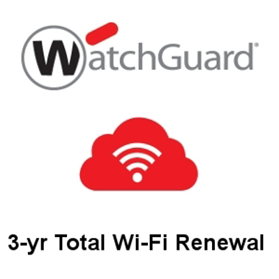 Picture of WatchGuard 3-yr Total Wi-Fi Renewal