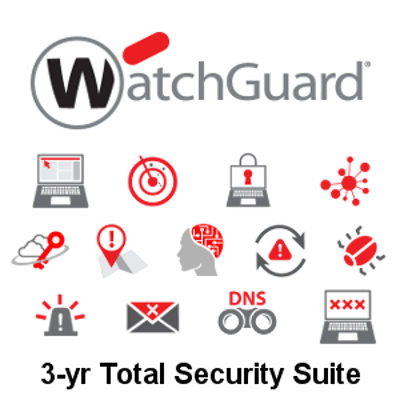 Picture of WatchGuard Total Security Suite Renewal 3-yr for Firebox M270
