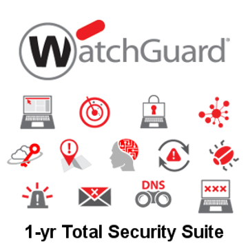 Picture of WatchGuard Total Security Suite Renewal 1-yr for Firebox M270