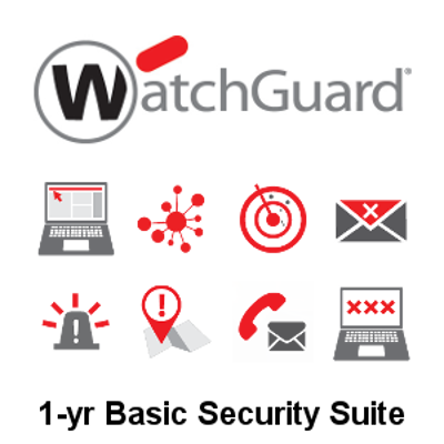 Picture of WatchGuard Basic Security Suite Renewal 1-yr for Firebox M270