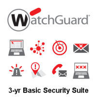 Picture of WatchGuard Basic Security Suite Renewal 3-yr for Firebox M270
