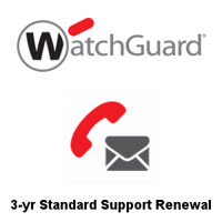 Picture of WatchGuard Standard Support Renewal 3-yr for Firebox M270