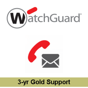 Picture of WatchGuard Gold Support Renewal 3-yr for Firebox M270