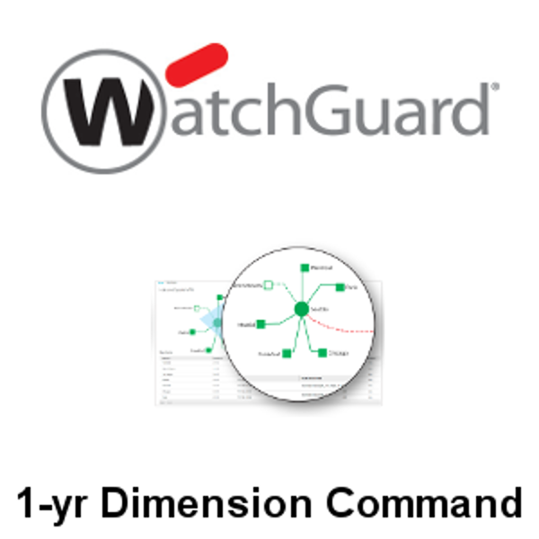 Picture of WatchGuard Dimension Command 1-yr for Tabletop Appliance