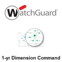 Picture of WatchGuard Dimension Command 1-yr for Mid-Range Appliance