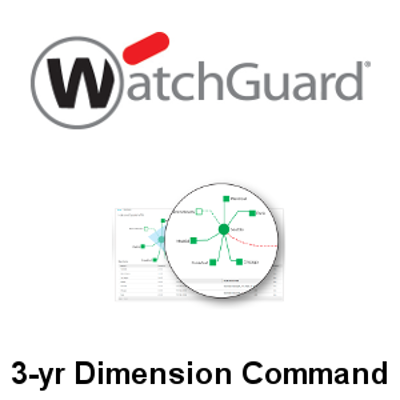 Picture of WatchGuard Dimension Command 3-yr for Mid-Range Appliance