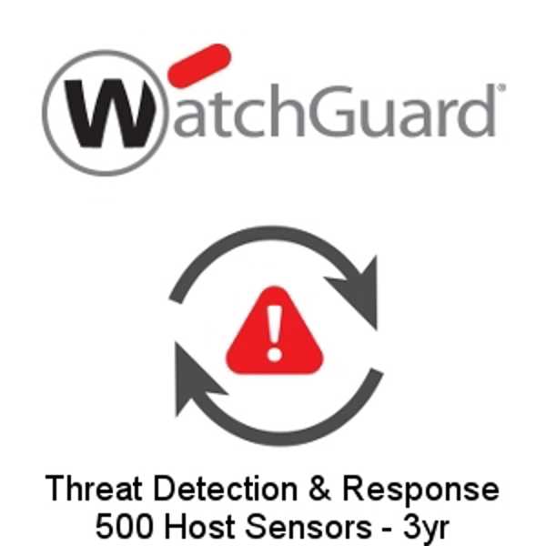 Picture of WatchGuard Threat Detection and Response - 500 Host Sensors 3 yr