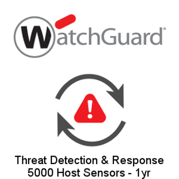 Picture of WatchGuard Threat Detection and Response - 5000 Host Sensors