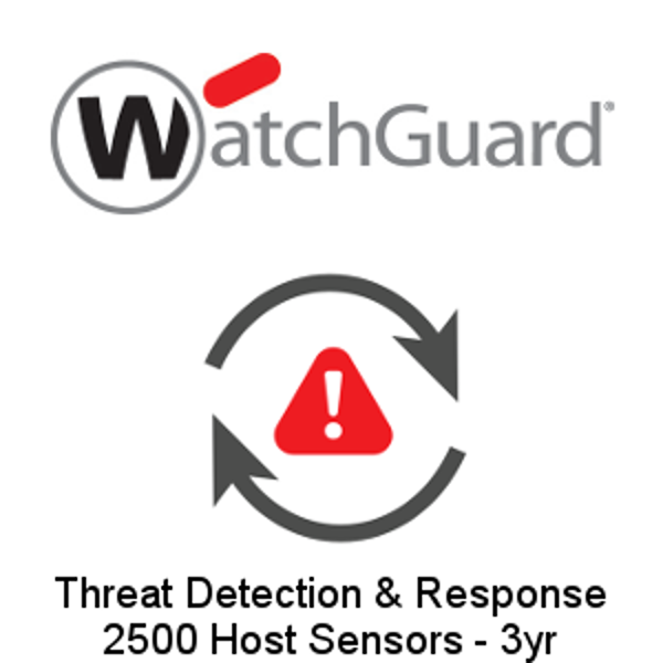 Picture of WatchGuard Threat Detection and Response - 2500 Host Sensors - 3yr