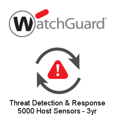 Picture of WatchGuard Threat Detection and Response - 5000 Host Sensors - 3yr