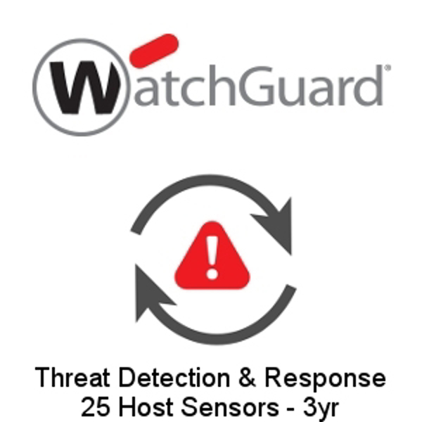Picture of WatchGuard Threat Detection and Response - 25 Host Sensors - 3yr