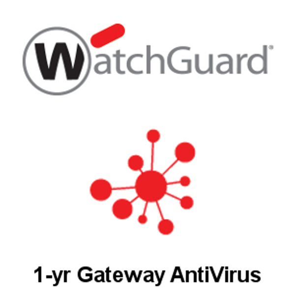 Picture of WatchGuard Gateway AntiVirus 1-yr for Firebox T15-W