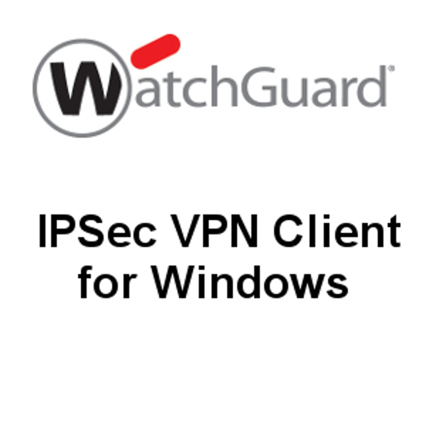 Picture of WatchGuard IPSec Mobile VPN Client for Windows