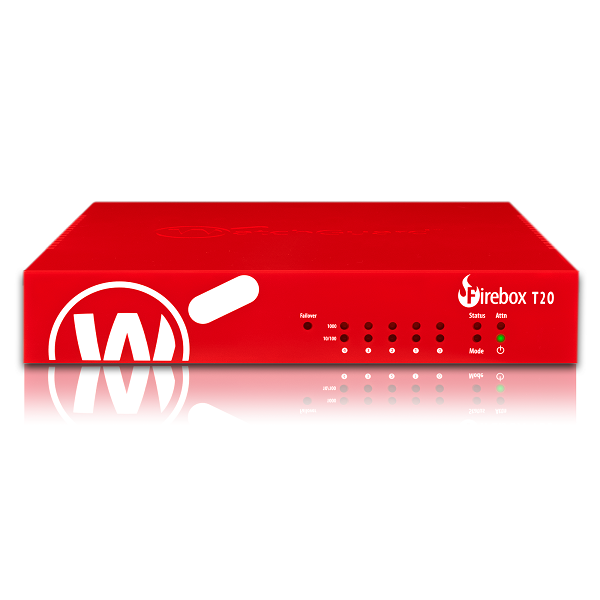 Picture of WatchGuard Firebox T20 with 1-yr Total Security Suite