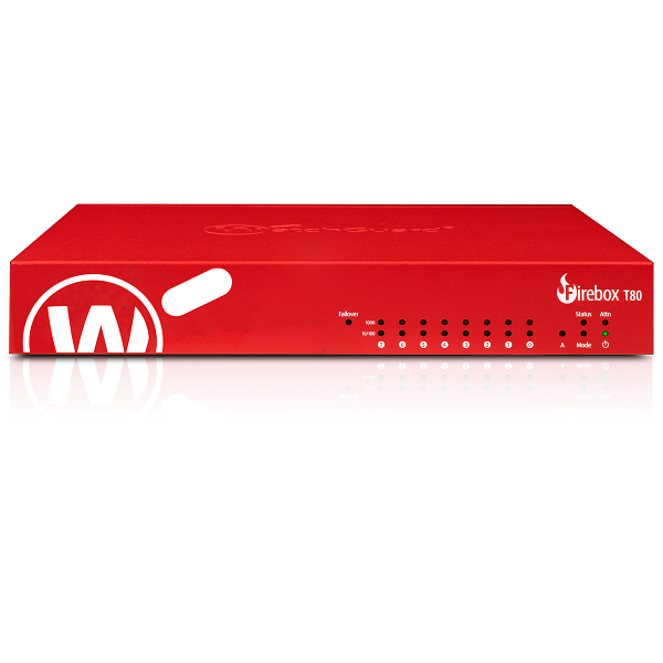Picture of WatchGuard Firebox T80 with 1-yr Standard Support