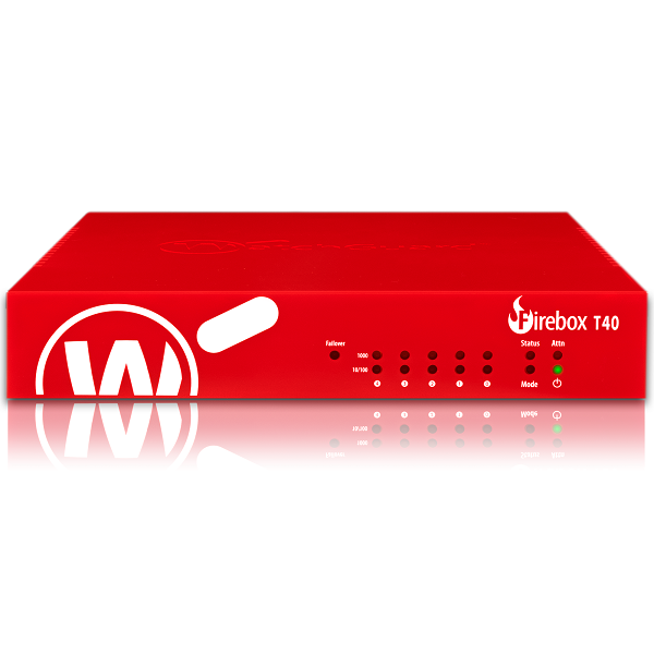 Picture of WatchGuard Firebox T40 with 1-yr Total Security Suite
