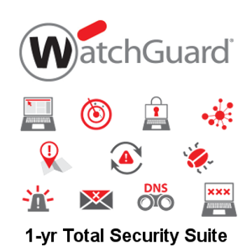 Picture of WatchGuard Total Security Suite Renewal 1-yr for Firebox T20-W