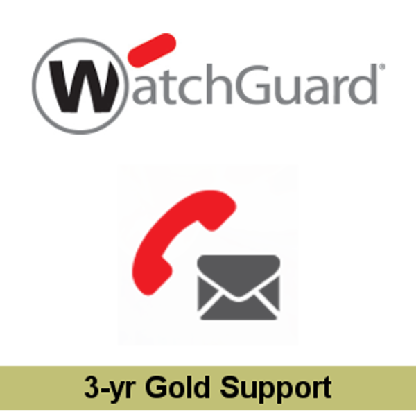 Picture of WatchGuard Gold Support Upgrade 3-yr for Firebox T20