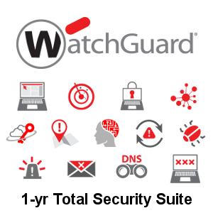 Picture of WatchGuard Total Security Suite Renewal 1-yr for Firebox T40