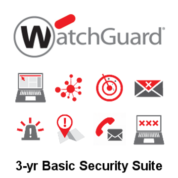 Picture of WatchGuard Basic Security Suite Renewal 3-yr for Firebox T40-W