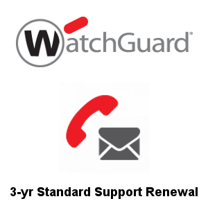 Picture of WatchGuard Standard Support Renewal 3-yr for Firebox T40