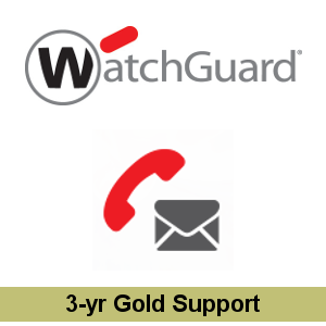 Picture of WatchGuard Gold Support Upgrade 3-yr for Firebox T40