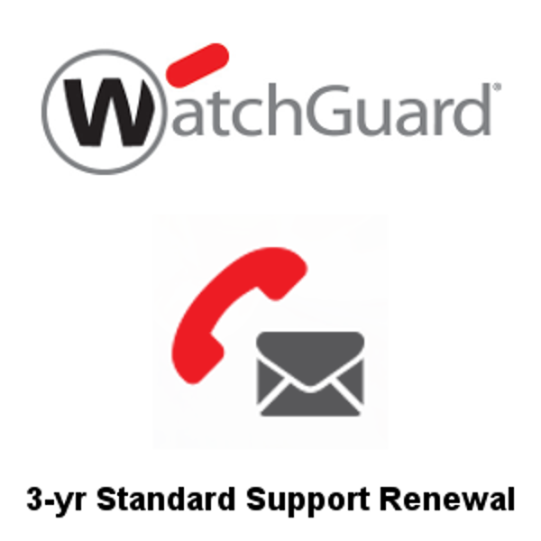 Picture of WatchGuard Standard Support Renewal 3-yr for Firebox T80